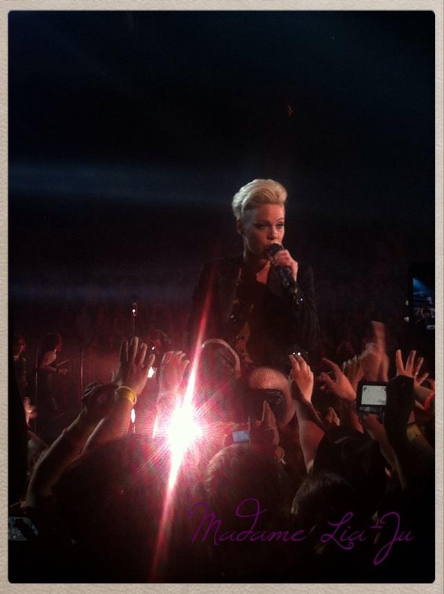 Pink 17 avril concert