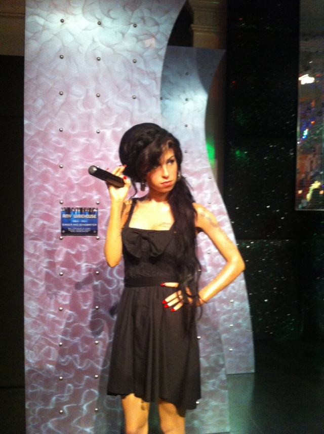 Musée de Madame Tussauds Amy winehouse