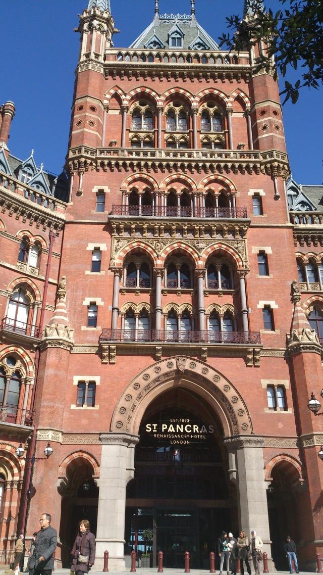 Gare de Saint Pancras Londres