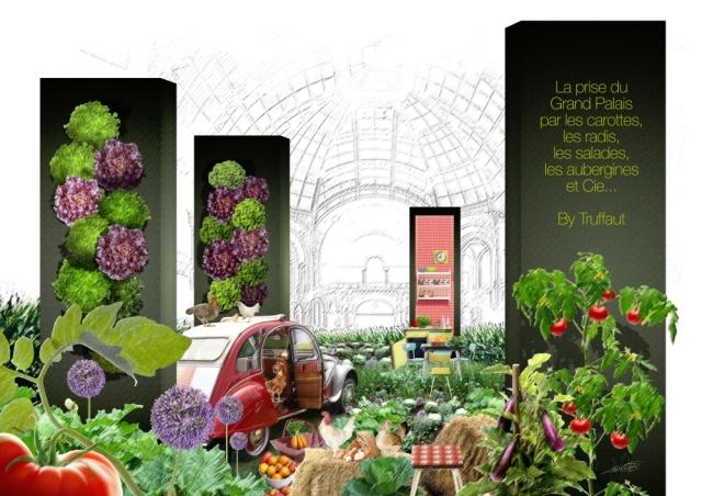 potager Truffaut l'art du jardin grand palais