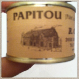 pâté papitou so french box taj paris