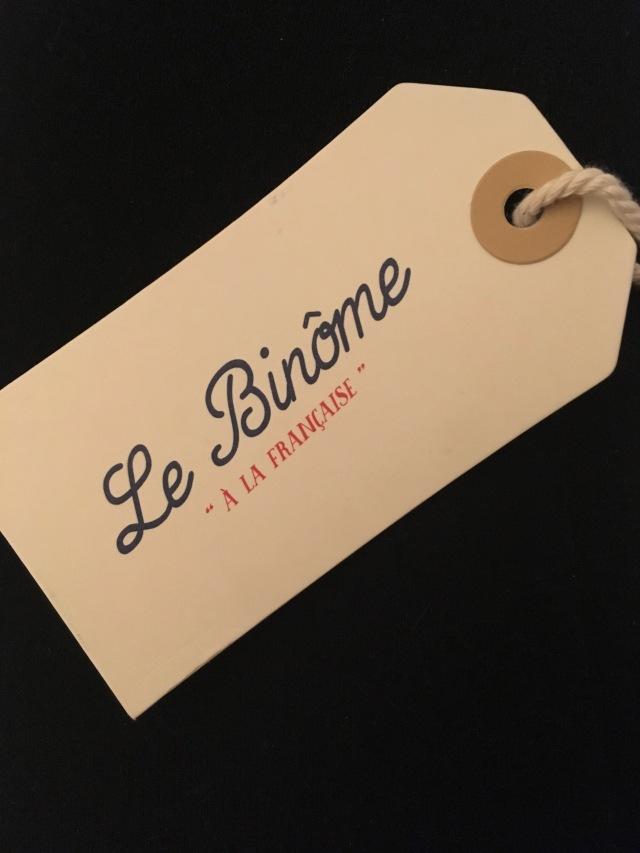 le binôme à la française