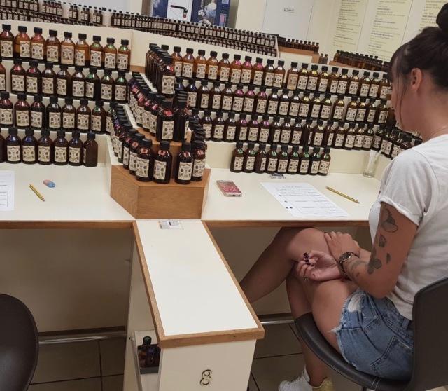 atelier parfum Galimard